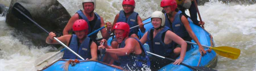 Costa Rica Canopy and River Rafting Adventure Combo