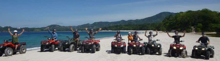 Avellanas Beach ATV Tour