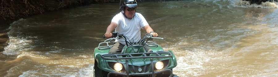 Gulf of Papagayo ATV & Canopy Combo Tour