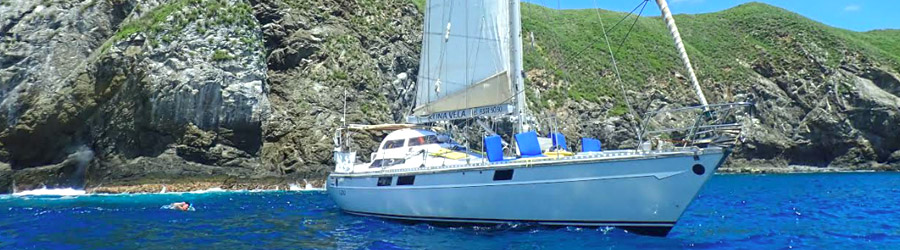 Kuna Vela Express 47' Sloop Private Sailboat Charter