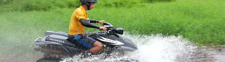 La Guaria Farm & Waterfall ATV Tour