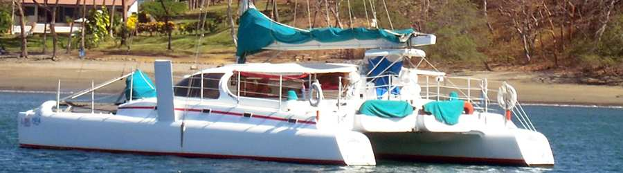 60' Private Catamaran Sailing Charter