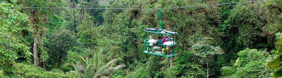 Costa Rica Rainforest Adventure 3 in 1