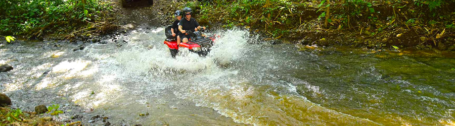 Rainforest & Rivers ATV Adventure + Tarcoles Crocodile Safari
