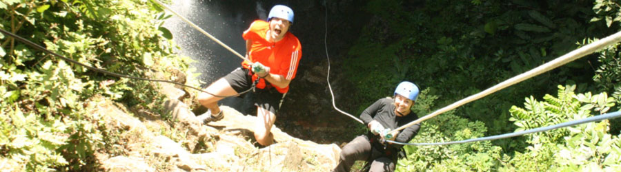Rappel & Rafting Combo