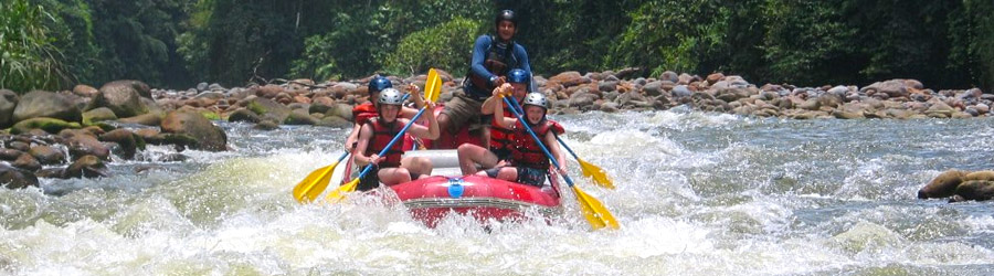San Lorenzo Adventure Park (Lands in Love) Arenal Whitewater Rafting