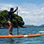 Tamarindo Bay SUP Tour to Capitan Island