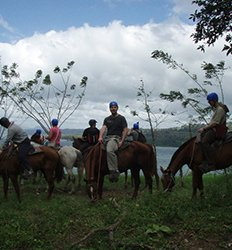 Arenal Volcano Horseback Ride (Horses + Hot Springs)