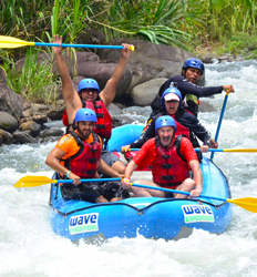 Balsa River Rafting + Arenal Hanging Bridges Combo Tour