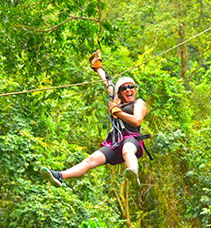 Canopy + Horseback Riding + Waterfalls Hike