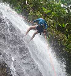 Canyoning & Waterfall Rappelling Tour