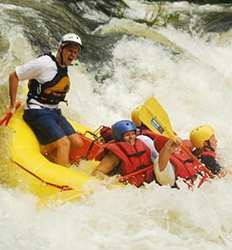 Colorado River Rafting & Rappel Combo