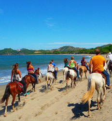 Horseback Riding on the Beach + Tarcoles Crocodile Tour Costa Rica