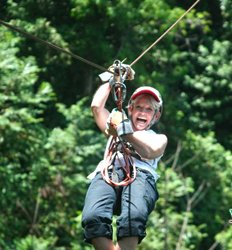 Puntarenas Zip Line Canopy Tour & Rainforest Aerial Tram Ride