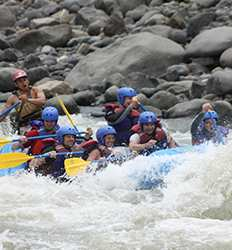 Rafting Pacuare Class III-IV Overnight Rainforest Excursion