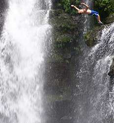 The Extreme Adventurer Waterfall Tour