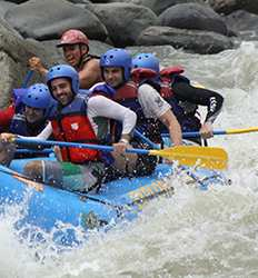 White Water Rafting Pacuare River Class III/IV