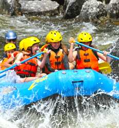 White Water Rafting Reventazon River For Cruise Ship Passengers